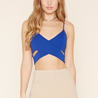 Crisscross-Cutout Cropped Cami | Forever 21 - 2000222025