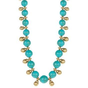 Lauren Ralph Lauren Turquoise Collar Necklace
