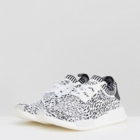 adidas Originals NMD R1 Primeknit Trainers In White BZ0219 at asos.com