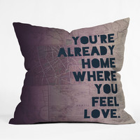 Leah Flores Home 2 Throw Pillow