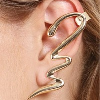 Gold Swag Ear Cuff