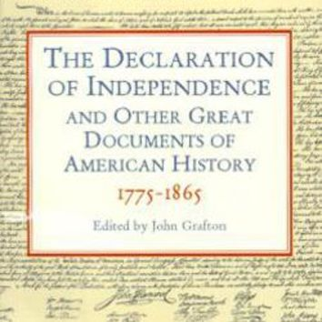 Declaration of Independence: Dover Thrift Editions: 9780486411248: