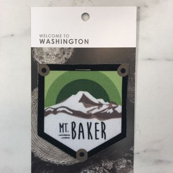 Mount Baker Iron On Patch