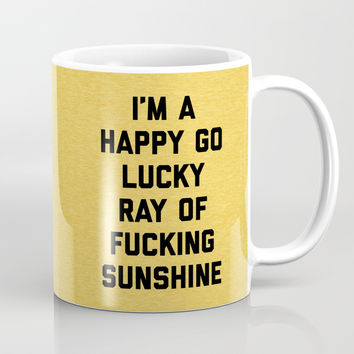 Ray Of Sunshine Funny Quote Coffee Mug by envyart