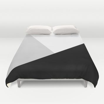 Monochromatic Duvet Cover by ARTbyJWP