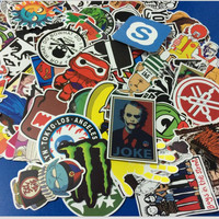 50PCS/set Drop shipping Fashion cool DIY Stickers Skateboard Laptop Luggage Snowboard Fridge Phone toy Styling  Sticker 06465