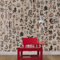 Tattoo Wallpaper design by Cookie Bros for NLXL