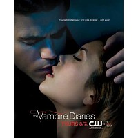 The Vampire Diaries 27x40 TV Poster (2009)