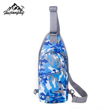 Sports gym bag Premium Waterproof Running Durable Nylon Small Chest Bag Outdoor Travel Sport Shoulder Bag Sling Backpack Wonan  Gifts KO_5_1