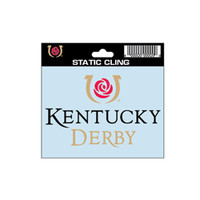 Kentucky Derby Icon Window Cling at KentuckyDerbyStore.com