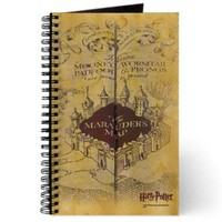 Harry Potter Marauder's Map Notebook | HarryPotterShop.com
