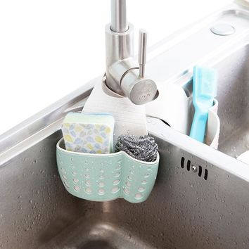 Kitchen Sink Storage Basket Drain