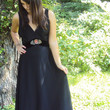 70s Long Black Dress Boho Backless Maxi Dress Sm Med Long Cool Woman BOHEMIAN Maxi Dress M // Supermodel LengthOOAK one of a kind