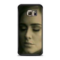 Adele Potrait Face Hello Actress Samsung Galaxy S6 Edge Case