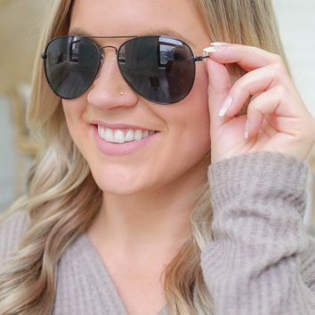 Bright Skies Sunglasses - Black