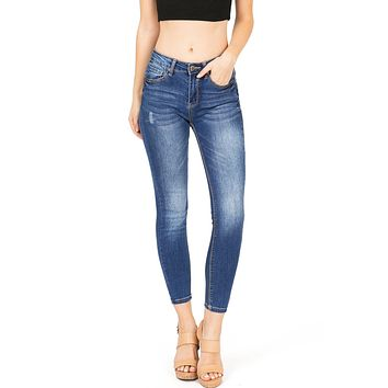 Castoff Ankle Skinny Jeans