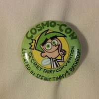 CosmoCon Cosmo Con Cosmo-Con Button!