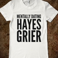 MENTALLY DATING HAYES GRIER T-SHIRT (IDC713107)