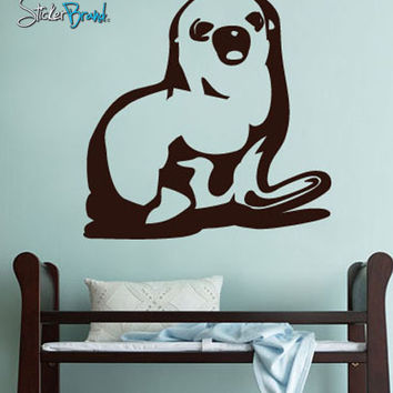 Vinyl Wall Art Decal Baby Seal Animal Decoration #168