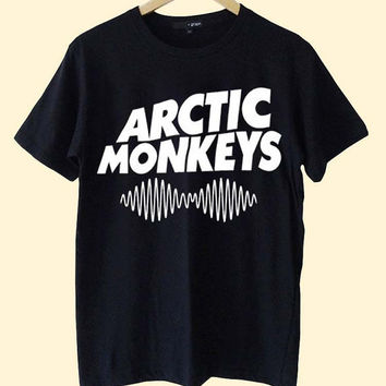 Hot Arctic Monkeys Premium Tour Logo clothing T Shirt Mens and T Shirt Girls customized