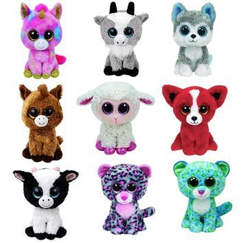 Kawaii Ty Beanie Boos Big Eyes Small Unicorn Plush Toy Doll Kawaii Stuffed Animals Collection Lovely A wide variety of styles Gi