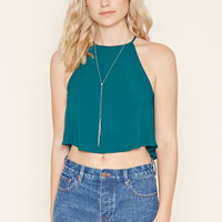 Crepe Trapeze Cami | Forever 21 - 2000170789