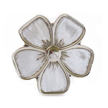 """Sterling Silver Rings   """"Love Flower""""   Silver Rings for Women   Silver Jewelry   Rings   925   Sterling Silver Rings Shop   Mexico   0054"""