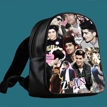 Zayn Malik collage One Direction for Backpack / Custom Bag / School Bag / Children Bag / Custom School Bag *