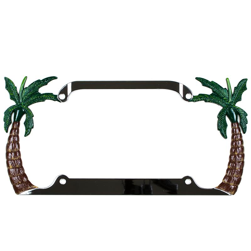 Palm tree license plate frame from thaliasurf com things i want