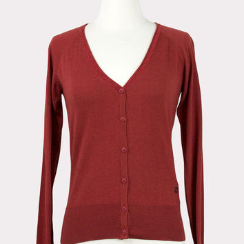 Albiztur Red Cardigan