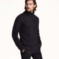 H&M Wool-blend Turtleneck Sweater $59.99