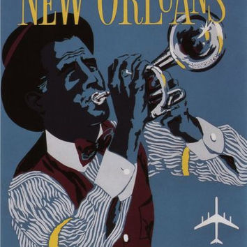 New Orleans Mini poster 11inx17in