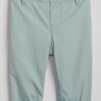 Pull-On Lined Chinos|gap