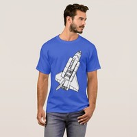 SPACE SHUTTLE TWO T-Shirt