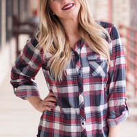 Red Plaid Perfection