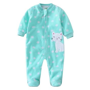 Baby Romper Baby Girl infant Jumpsuit newborn long sleeve Rompers fleece cotton baby Jumpsuit