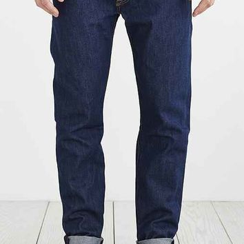Levi's 501 Custom Tapered Celebration Jean- Vintage Denim Dark