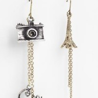 BCBGMAXAZRIA - SHOP BY CATEGORY: JEWELRY: BCBGENERATION PARIS LOVE EARRING