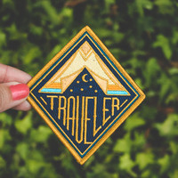 Traveler Embroidered Patch
