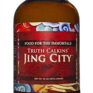 Truth Calkins' Jing City VEGAN With Lucuma,16 oz (in glass) | Longevity Warehouse