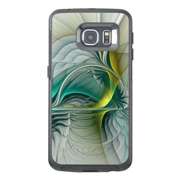 Fractal Evolution, abstract Art OtterBox Samsung Galaxy S6 Edge Case