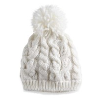 SONOMA Goods for Life™ Cable Knit Pom Pom Beanie | null