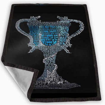 Harry Potter Quotes Goblet Of Fire Blanket for Kids Blanket, Fleece Blanket Cute and Awesome Blanket for your bedding, Blanket fleece *