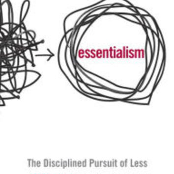 Essentialism: The Disciplined Pursuit of Less by Greg McKeown, Hardcover | Barnes & Noble®