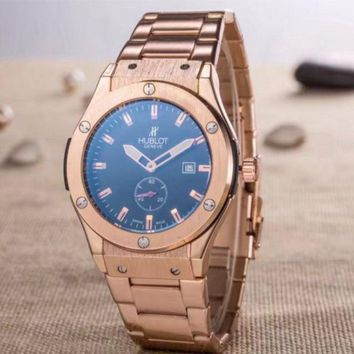 HUBLOT Men Fashion Quartz Watches Wrist Watch