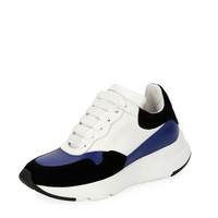 Alexander McQueen McQueen Leather Runner Sneaker