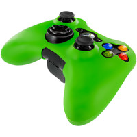 Neon Green Silicone Skin Case Cover for Microsoft xbox 360