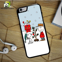 Charlie Brown Christmast iPhone 6S case by Avallen