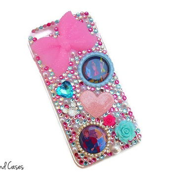 Sleeping Beauty Phone Case iPhone Princess Aurora iPhone Princess Bling Phone Case Cover Rhinestone Phone Case iPhone 6 5 5S