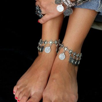 Sexy Ladies New Arrival Jewelry Gift Shiny Cute Stylish Accessory Tassels Anklet [1292354420803]